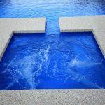 """Nova"" Fiberglass Swimming Pool Spa, designed and built by Aqua Technics Pools (Pool Builders)"