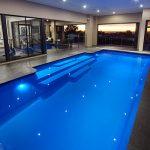 """Grandeur"" Fiberglass Swimming Pool (Large Pool), designed and built by Aqua Technics Pools"