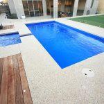 "Fiberglass Swimming Pool ""Palazzo"" (Medium Pool) by Aqua Technics Pools"