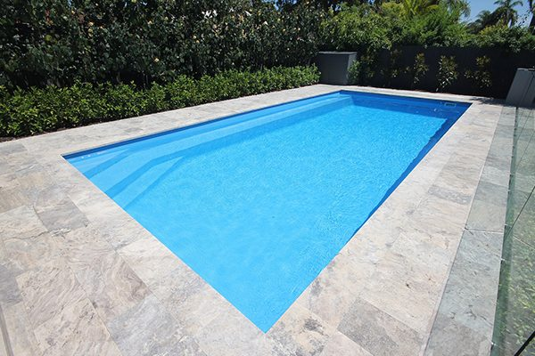 """Siena"" Fiberglass Inground Large Pool, designed and built by Aqua Technics Pools"