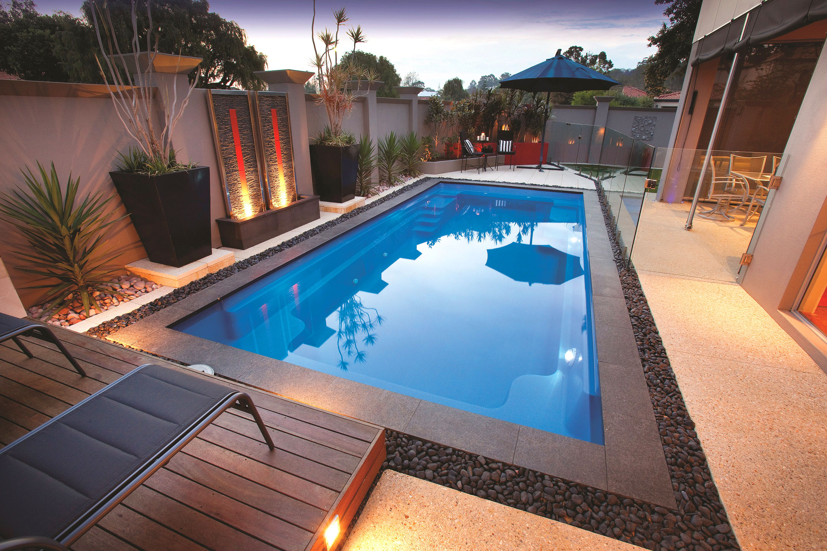 Aqua Technics Pools - Largest range of innovative fiberglass pools built stronger to last longer | Fade-resistant pool colour and limited lifetime surface warranty| Over 44 years' manufacturing experience | Highest grade fiberglass, award-winning swimming pools