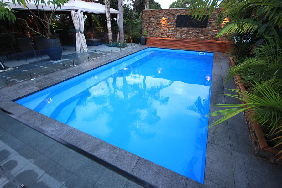 """Valentina"" Fiberglass Inground Swimming Pool (Medium Pool)"